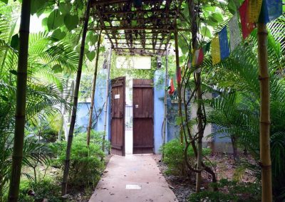 Entrance of Blue Indigo