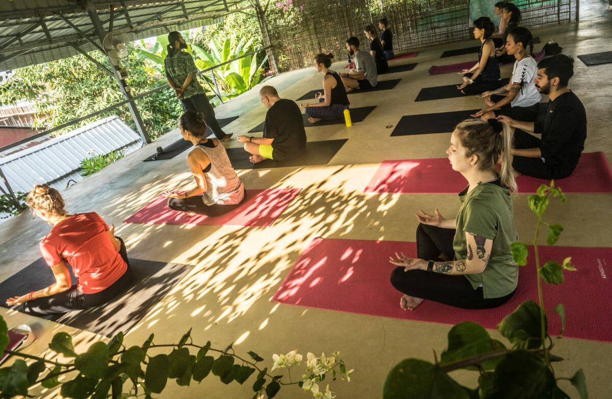 Our big yoga shala