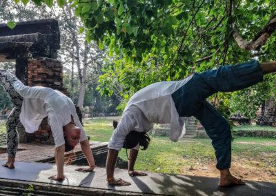 Yoga Teacher Blue Indigo Yoga Siem Reap