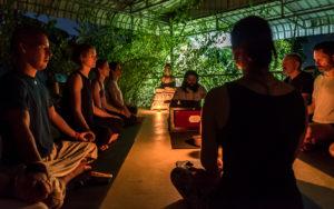 Bhakti yoga Blue Indigo Yoga Siem Reap