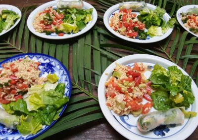 Food Blue Indigo Yoga Siem Reap