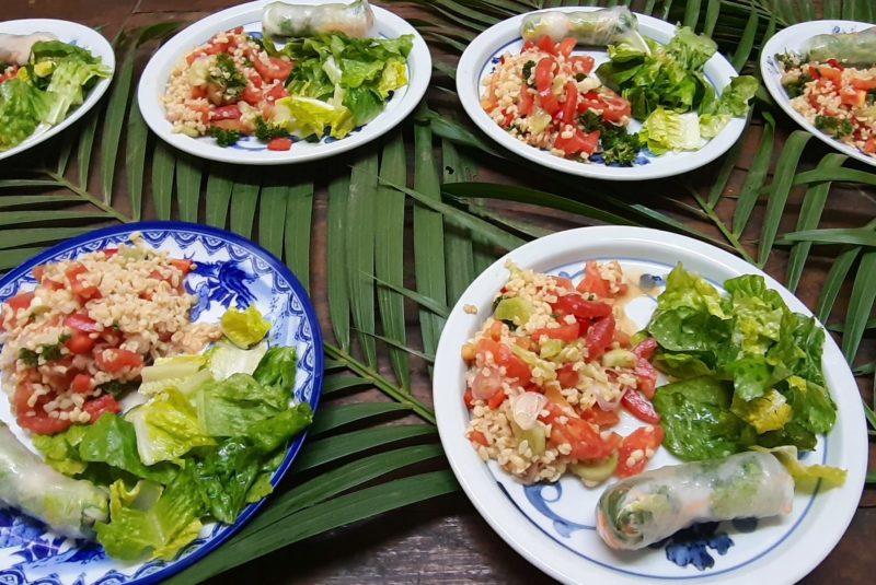 Food Blue Indigo Yoga Siem Reap
