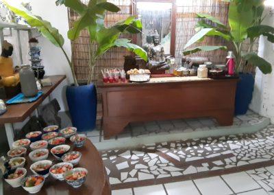 breakfast Blue Indigo Yoga Siem Reap