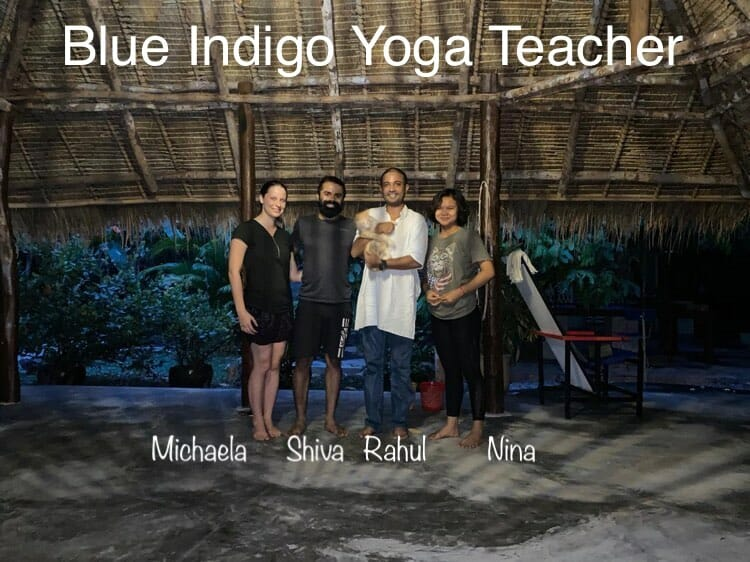 Teachers Blue Indigo Yoga Siem Reap