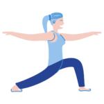 Hatha yoga Blue Indigo Siem Reap