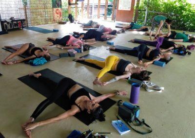 Yoga Shala of Blue Indigo Yoga Siem Reap