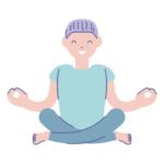 Meditation Blue Indigo Yoga Siem Reap